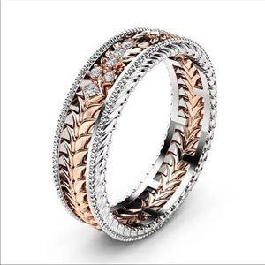 Jewelry - PATH ♡ Two-tone Ring
